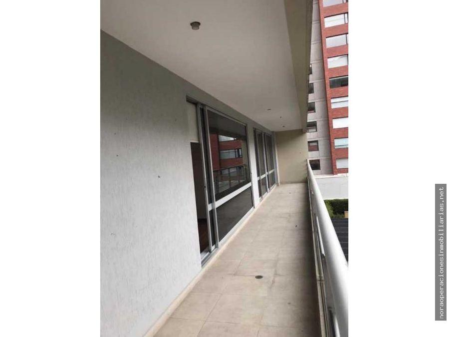 departamento con balcon 163m2 sector gonzalez suarez