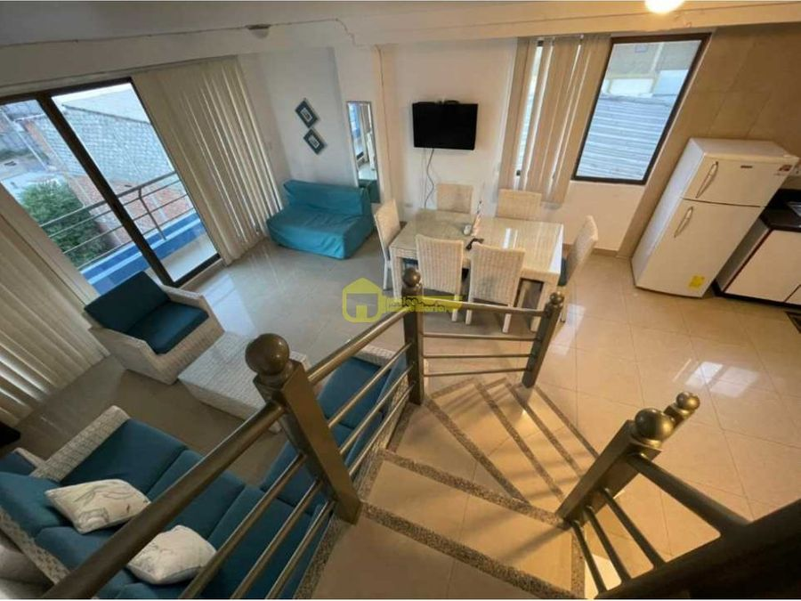 departamento duplex de una habitacionen renta