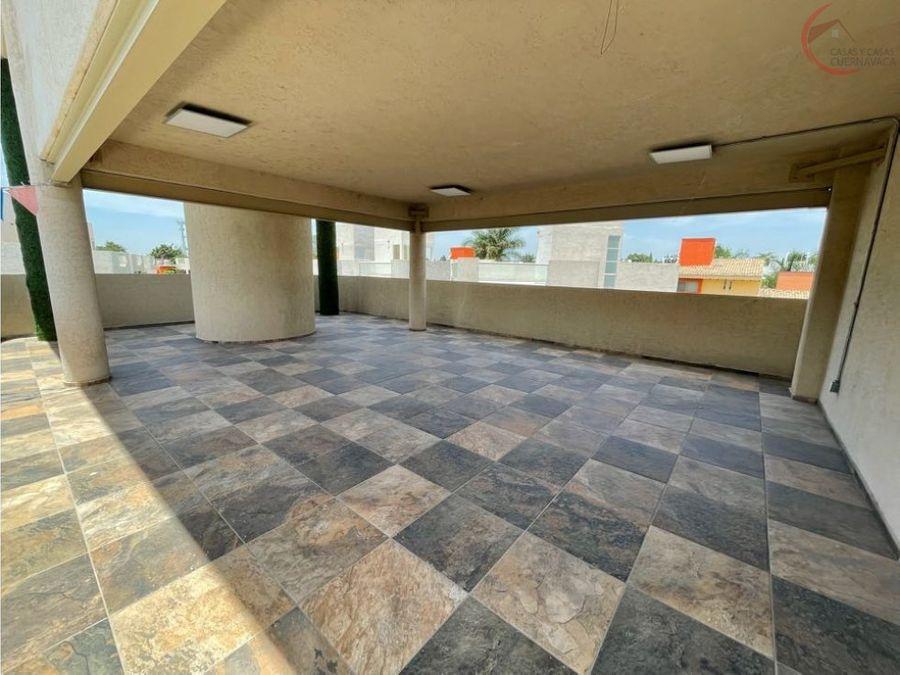 departamento en venta en jiutepec con roof garden y alberca