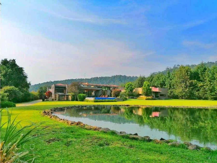 disponible casa sola acceso por club de golf valle de bravo