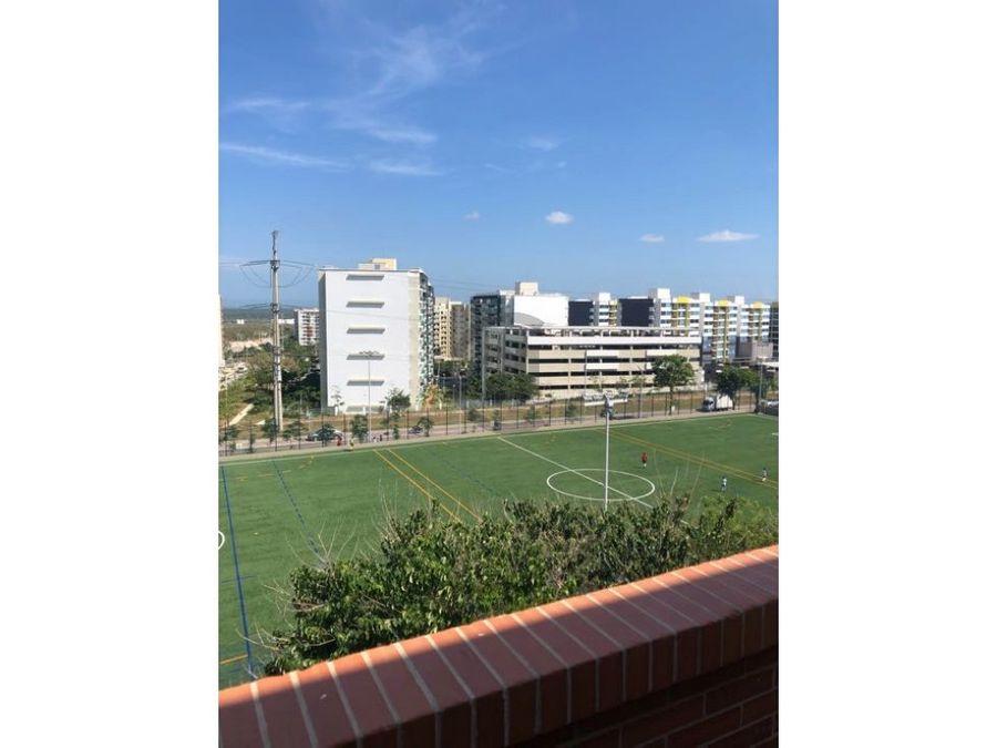 duplex con balcon y vista panoramica