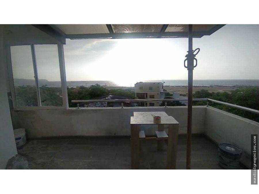 duplex con vista panoramica al mar y a la montana