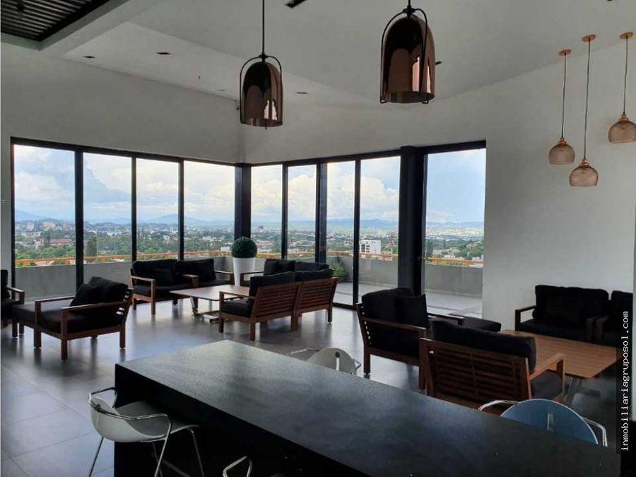 excelente apartamento en alquiler con vistas espectaculares