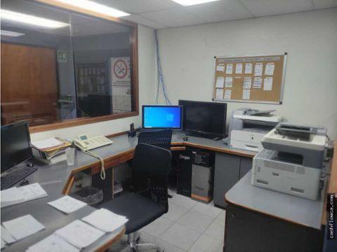 excelente oficina amoblada en la zona avenida bolivar norte 94 mts2
