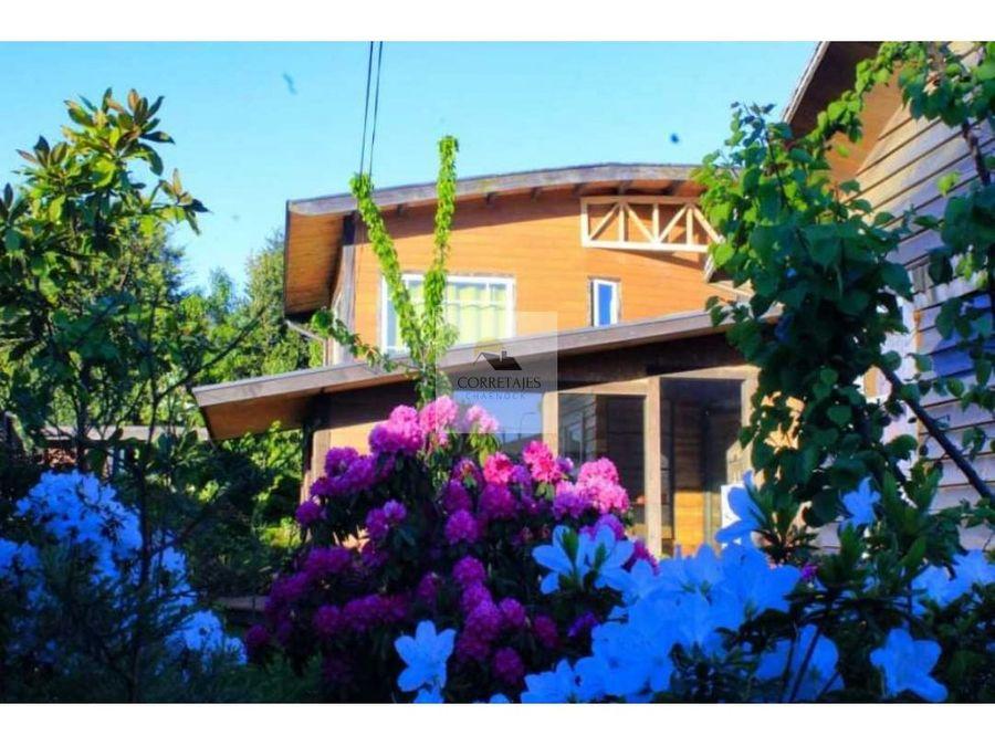 excelente propiedad en venta sector central y residencial pucon