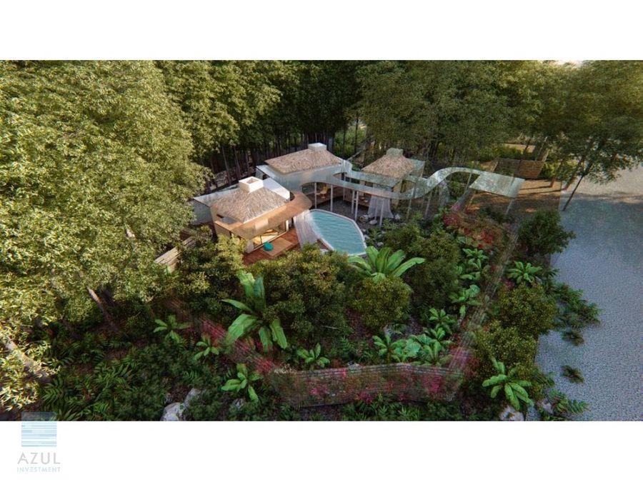 exclusiva casa en venta tulum