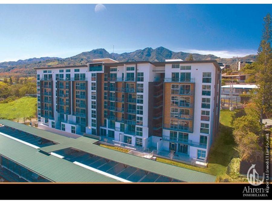 exclusivo apartamento en torres zona escazu