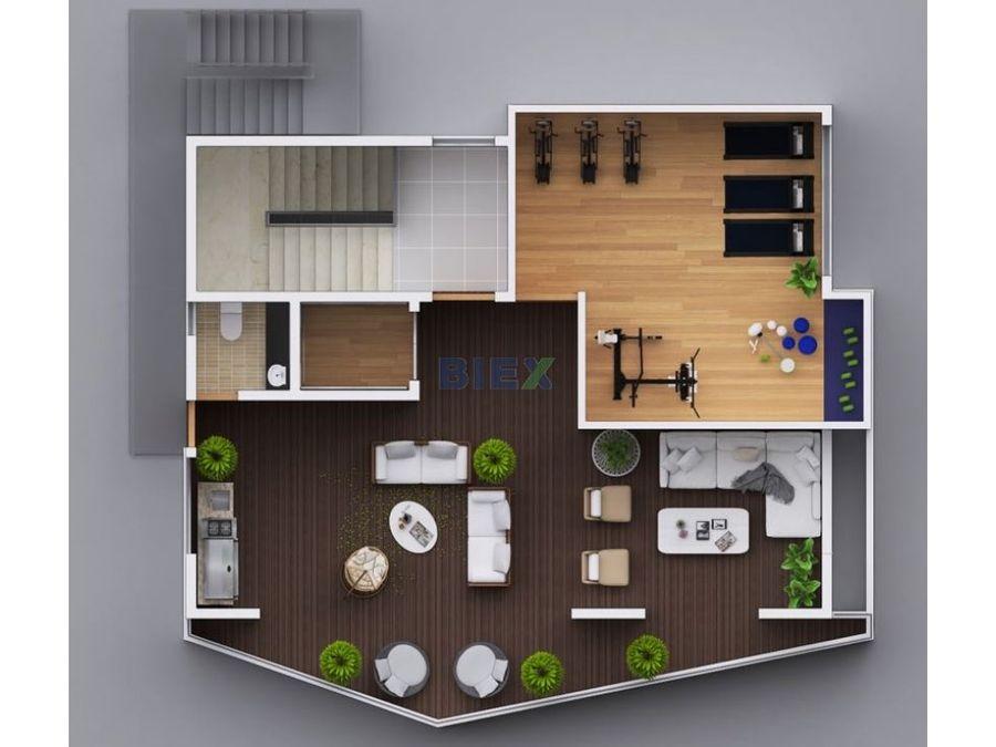 exclusivo apartamento en santiago