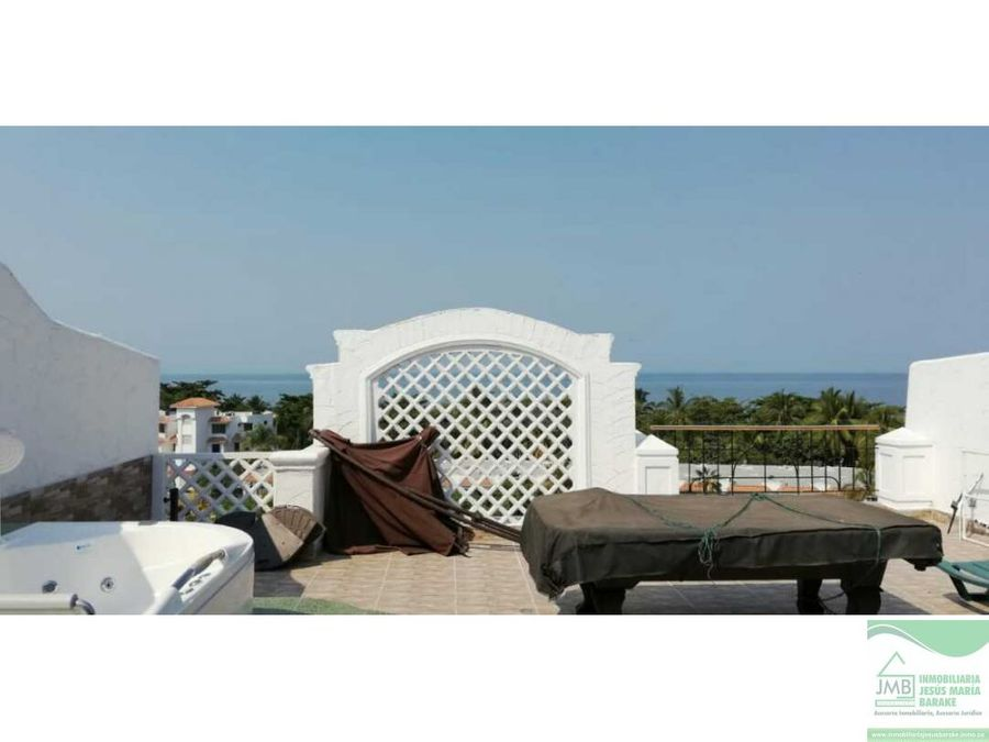 penthouse con terraza y balcon en costa azul