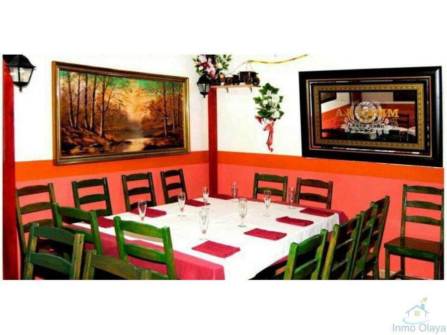 traspaso restaurante braseria 180m2 c3 en sants