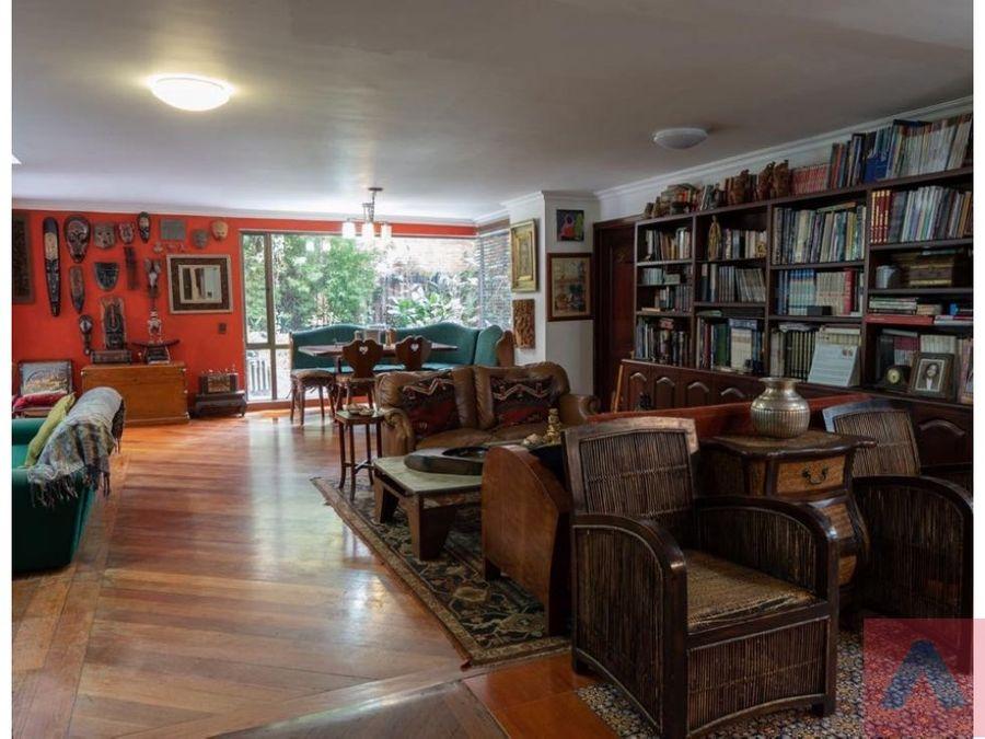 vendo apartamento en chico museos 194 m2 terraza 119 m2