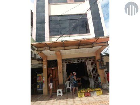 edificio 3 plantas en sector comercial de atacames esmeraldas ecu