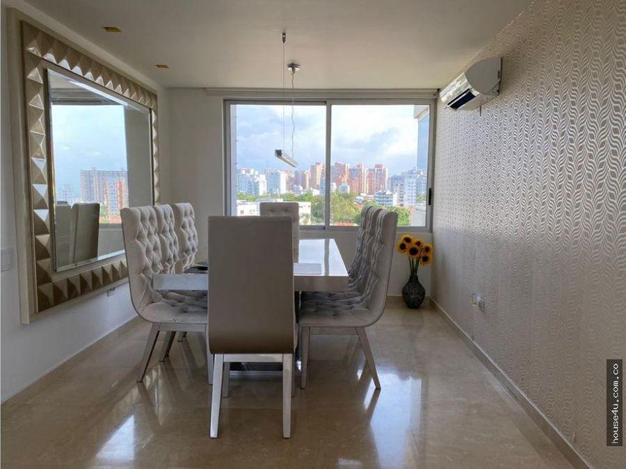 apartamento en venta en barrio la castellana barranquilla
