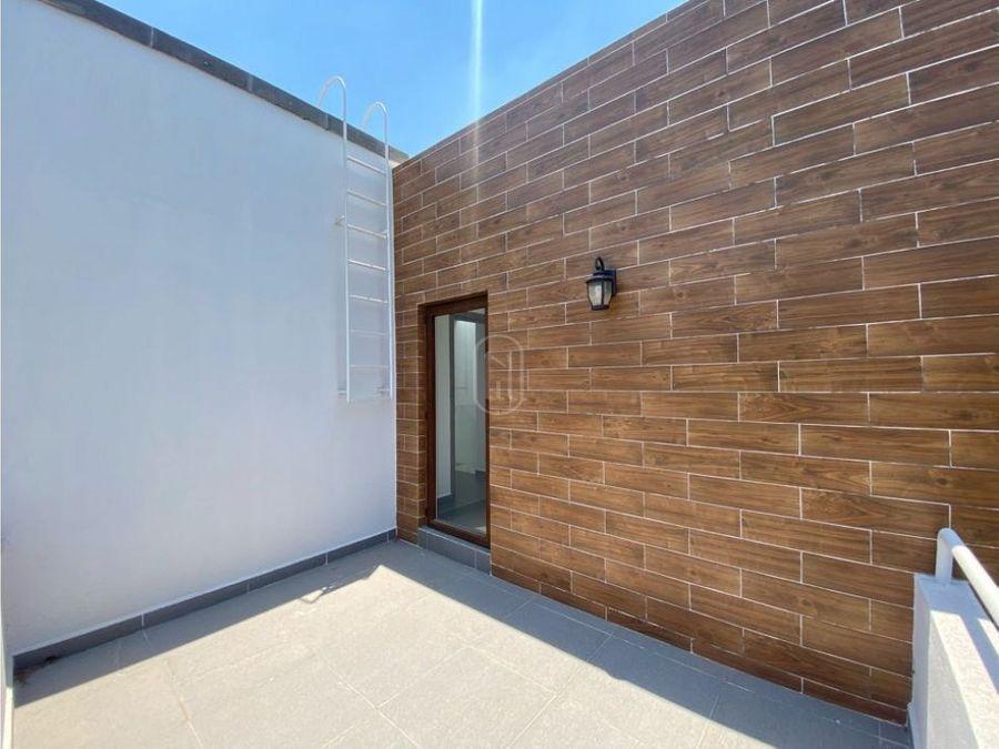 en renta casa 2 recamaras estudio y terraza en altozano queretaro