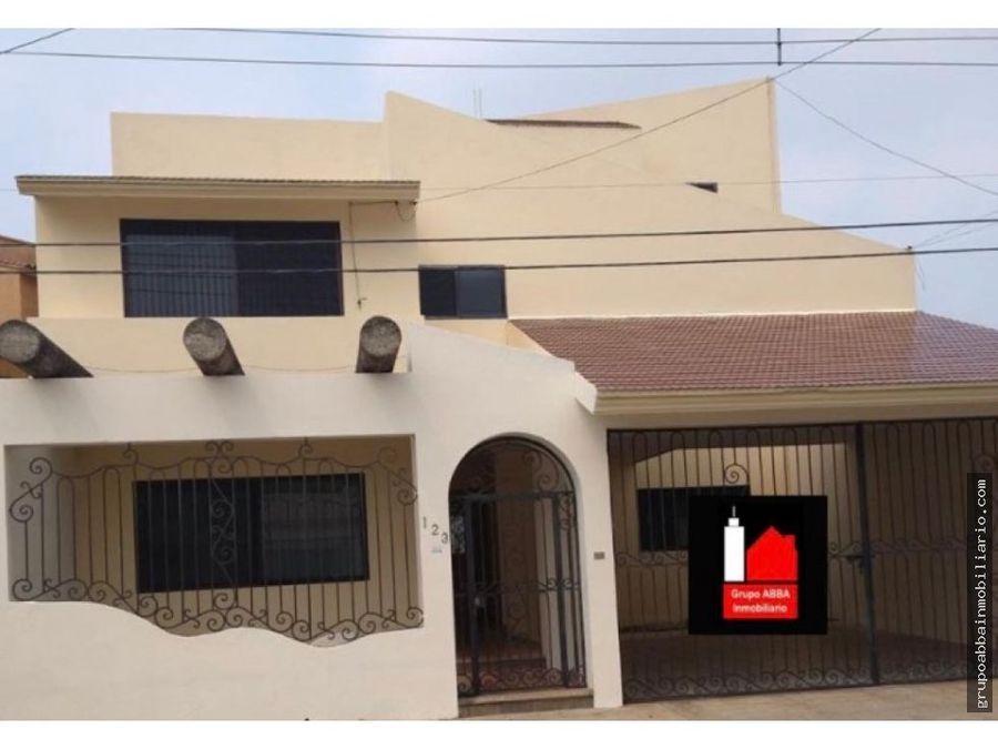 en venta casa en residencial framboyanes