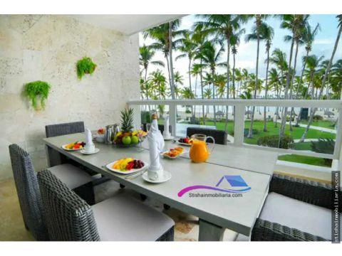en renta lujosos apartamentos ubicados en primera linea de playa