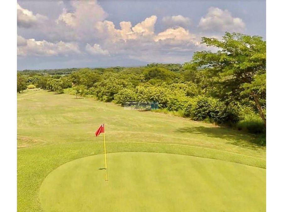 en residencial casa para vivir o vacacionar con campo de golf