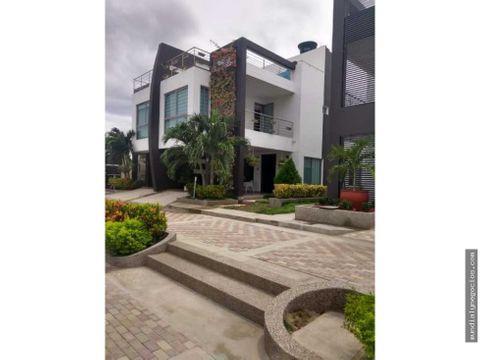 en venta moderna y hermosa casa en santa marta sector los aruacos