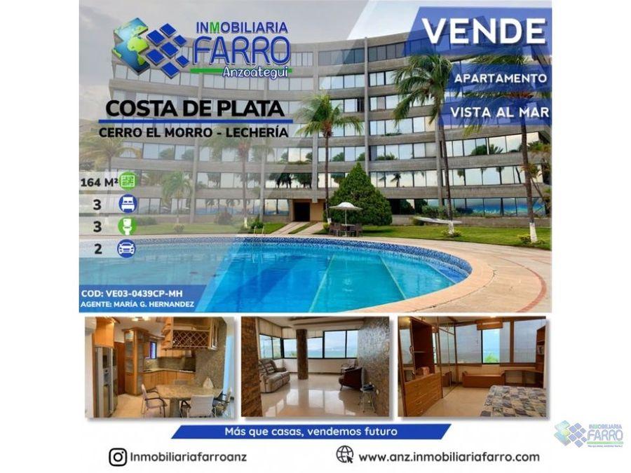 en venta apartamento con vista al mar costa de plata ve03 0439cp mh
