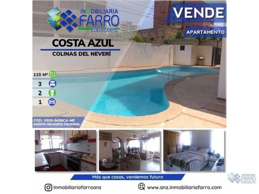 en venta apartamento costa azul ve03 0436ca mf