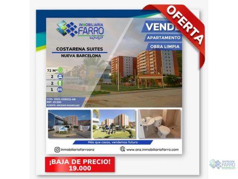 en venta apartamento costarena suites barcelona ve03 0280cs ar