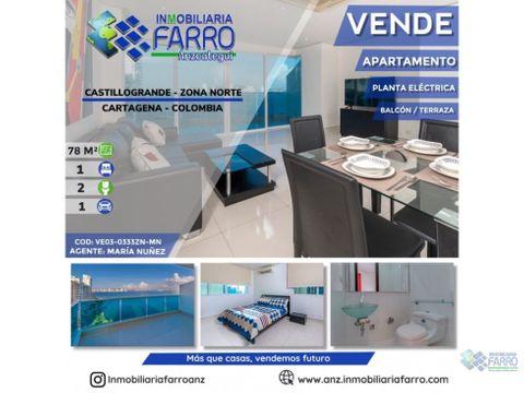 en venta apartamento en castillo grande cartagena ve03 0333zn mn