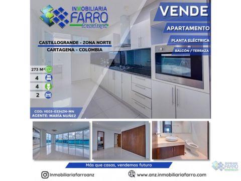 en venta apartamento en castillo grande zona norte ve03 0335zn mn