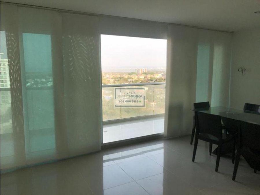 en venta apartamento en crespo vista panoramica