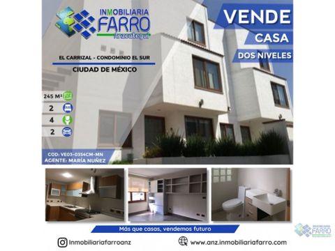 en venta casa ciudad de mexico ve03 0355cm mn