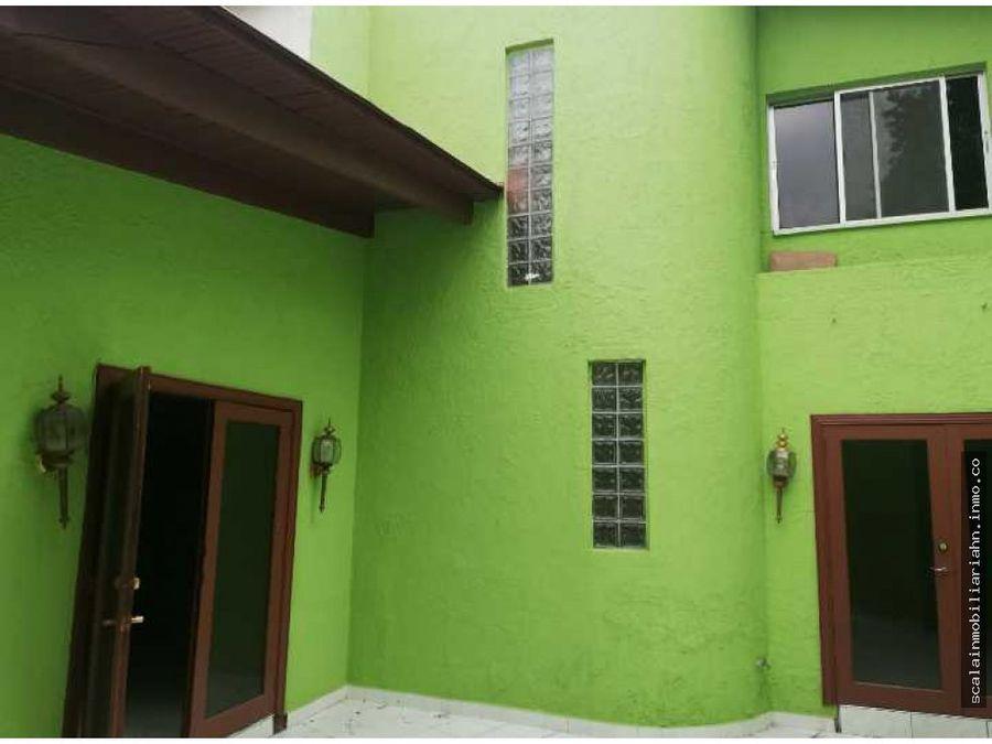 en venta casa en 3 caminos tegucigalpa