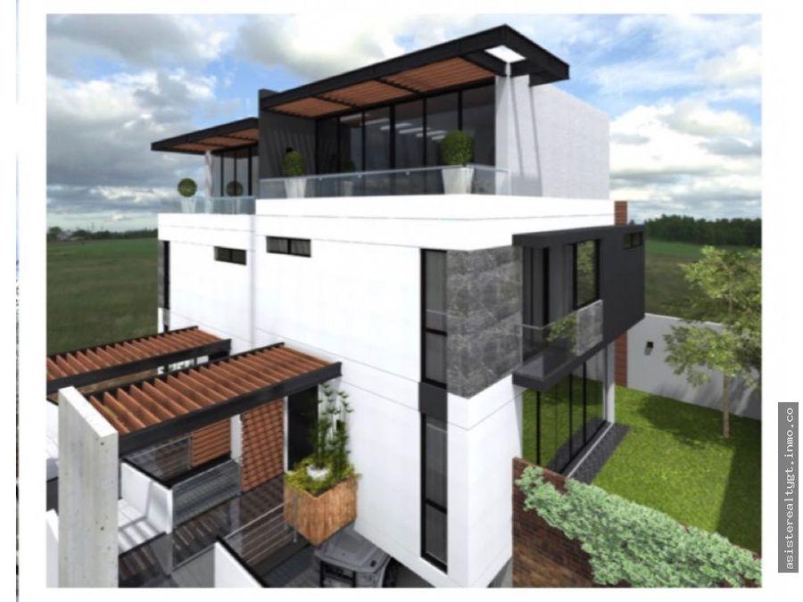 en venta casa en altos de vista hermosa zona 15
