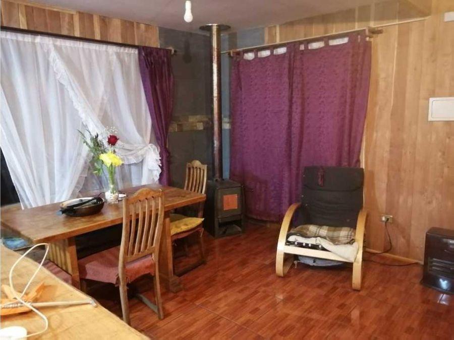 en venta casa en villa nueva esperanza pucon