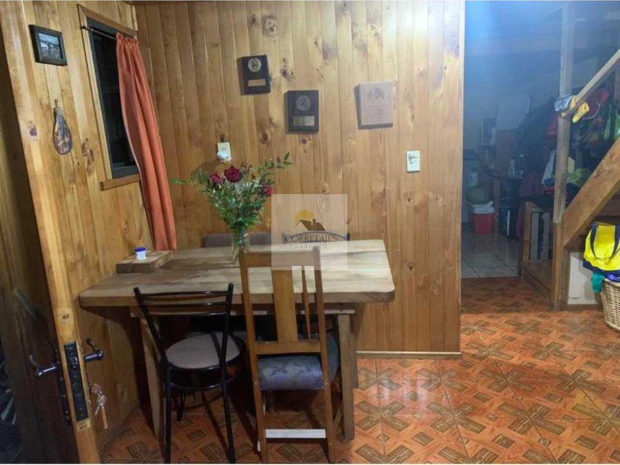 en venta casa en pobl bomberos de chile pucon excelente ubicacion