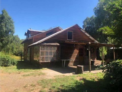 en venta casa en parcela metrenehue terreno indigena