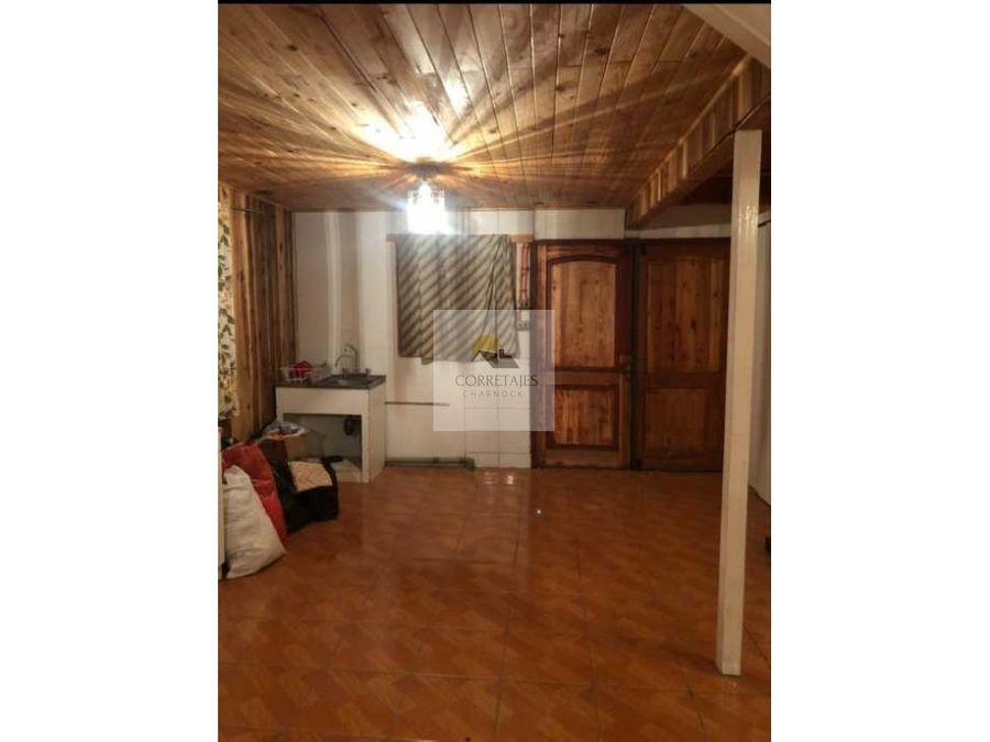 en venta casa en pucon por apuro amplia y excelente sector
