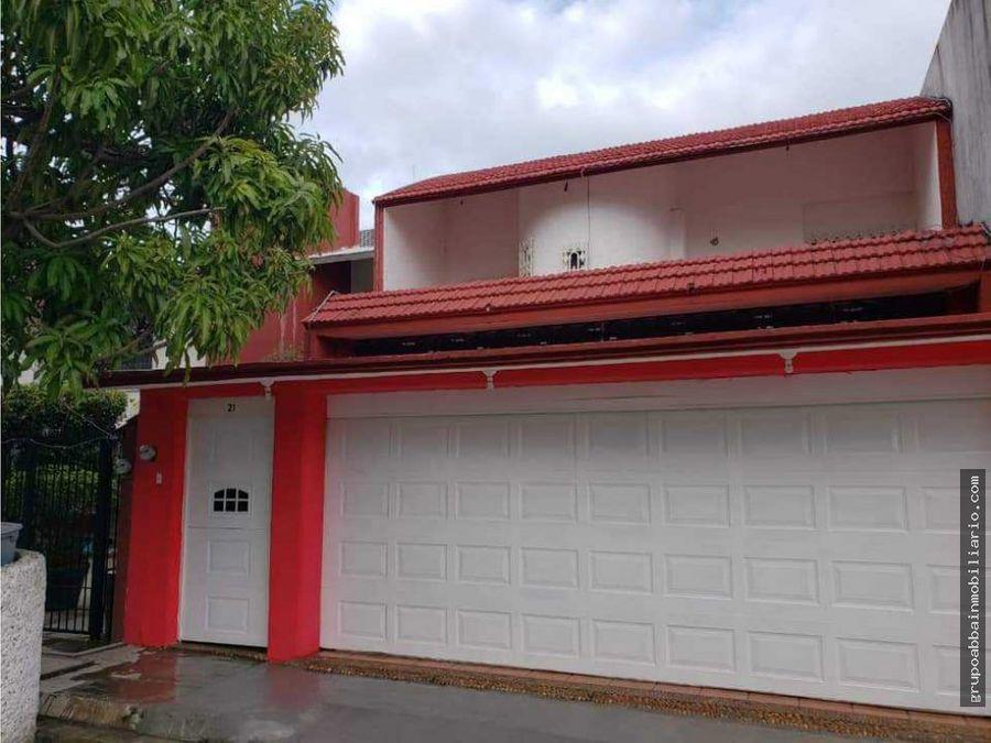 en venta casa en tabasco 2000 fracc la choca
