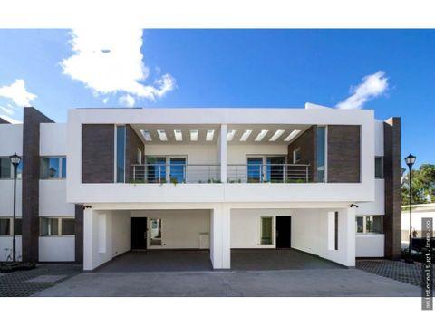 en venta casa moderna en zona 9
