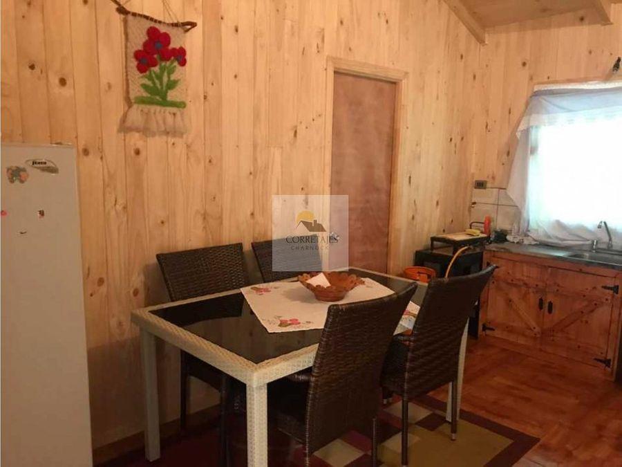 en venta casa nueva en sitio de 752 mts caburgua