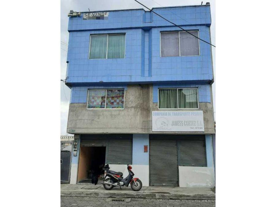 en venta casa rentera sur de quito guamani