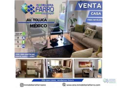 en venta casa toluca mexico ve03 0397tm mn
