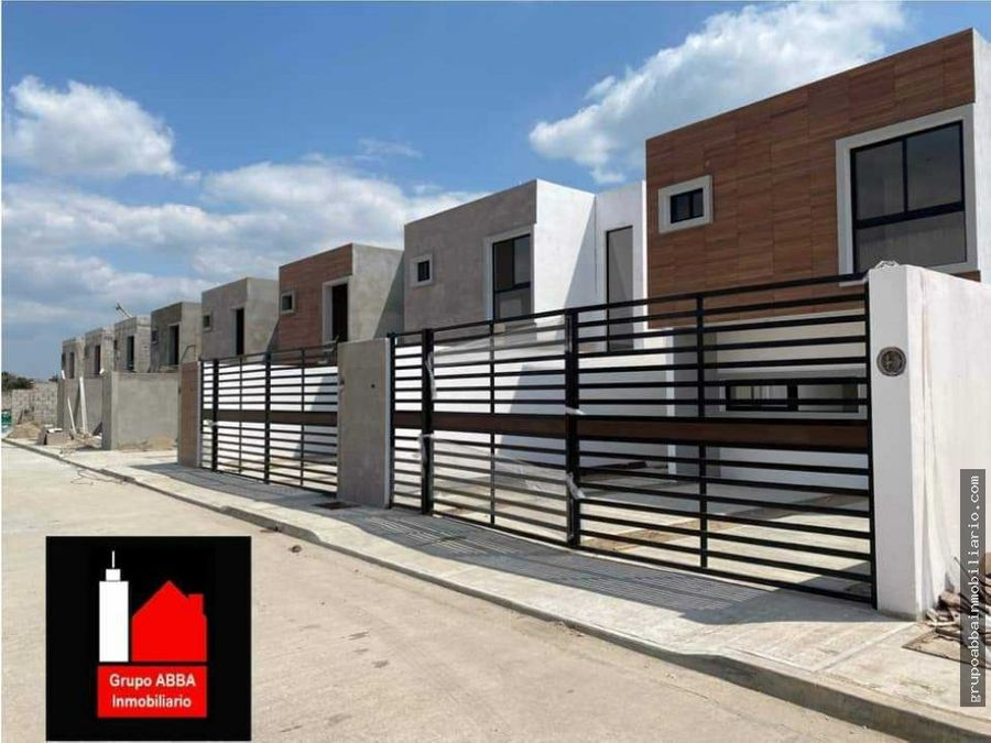 en venta casas completamente nuevas en residencial real del norte