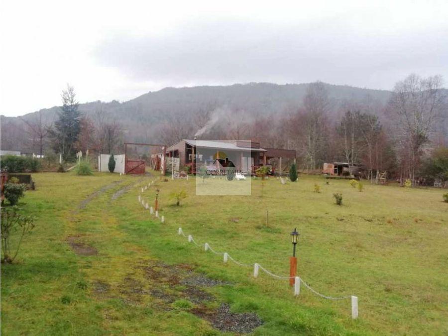 en venta complejo de cabanas caburgua km 19