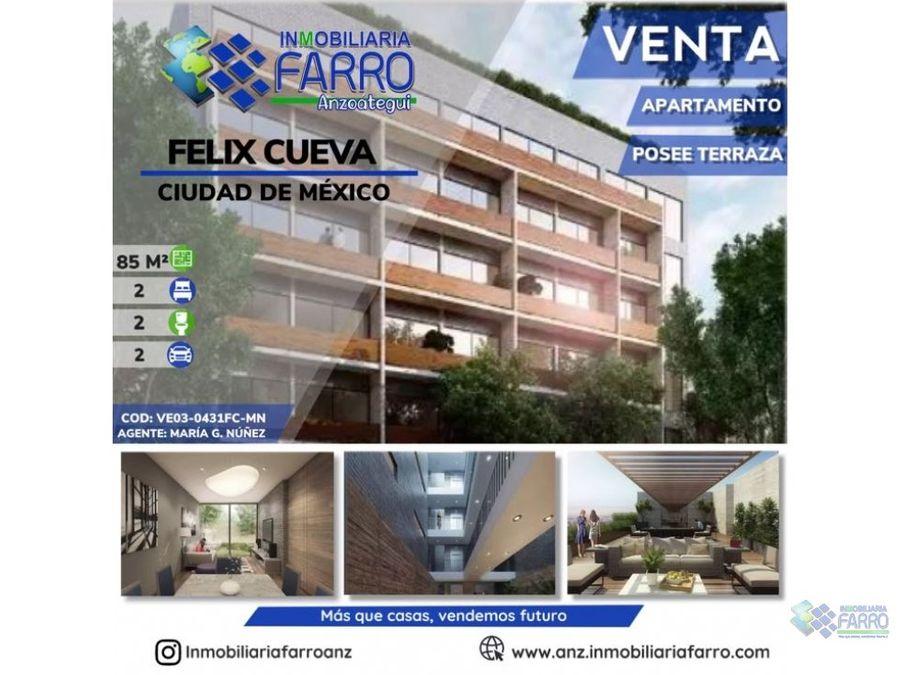 en venta departamento en mexico ve03 0431fc mn
