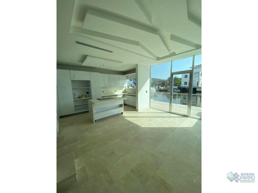 en venta hermosa casa bote a estrenar ve03 0444cb ov