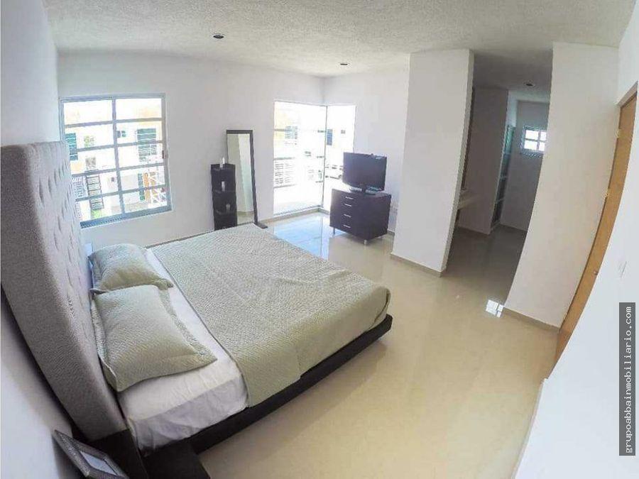 en venta ultima casa en residencial pomoca alberca en area social