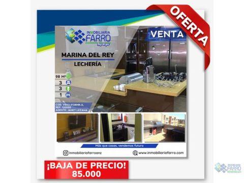 en venta pent house marina del rey ve03 0128mr jl