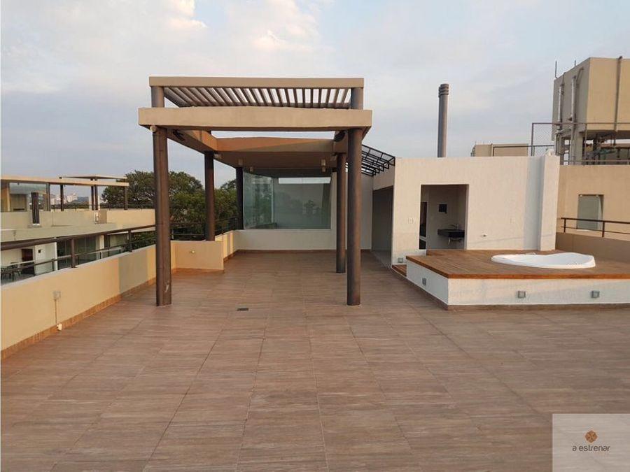 en venta penthouse edificio balkonia