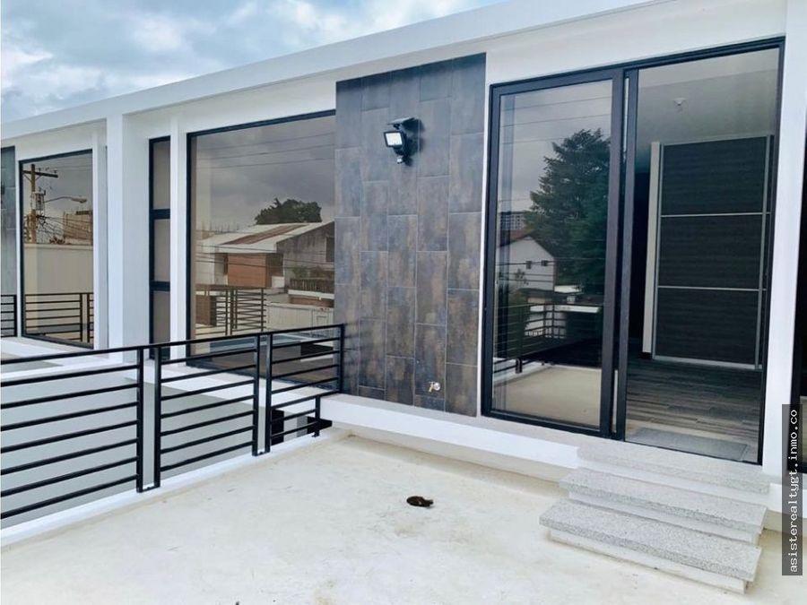 en venta preciosa casa en zona 15