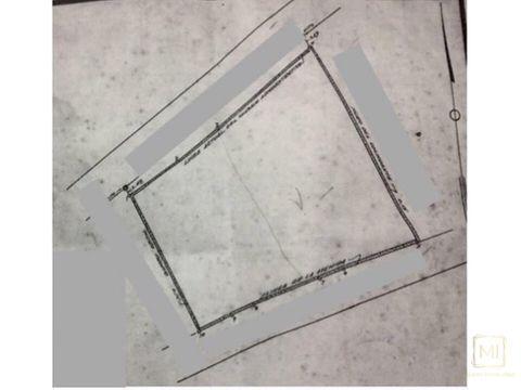 en venta solar de 2500 metros cuadrados sd rd