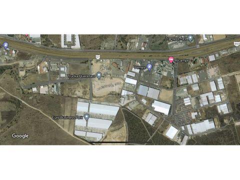 en venta terreno 2 hectareas en la carretera 57 el marques queretaro